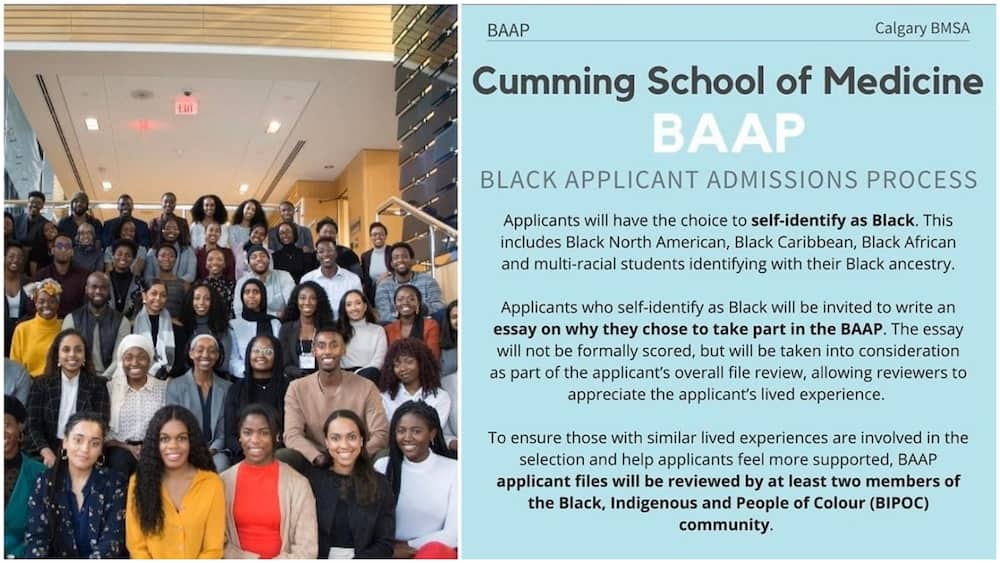 A collage of some of the school's students and the press release. Photo source: Twitter/BMSA