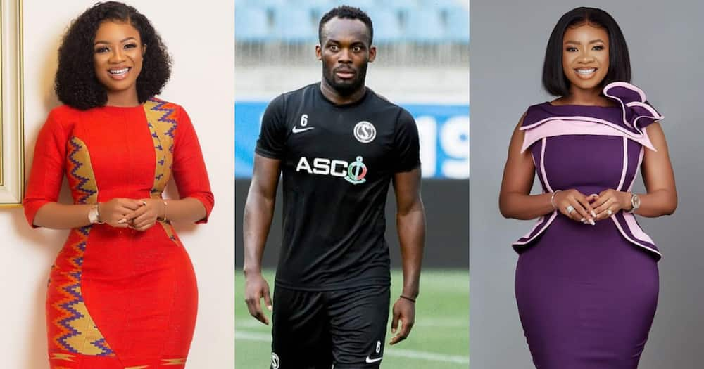 Michael Essien: Photo of Footballer with Serwaa Amihere Surfaces on the Internet