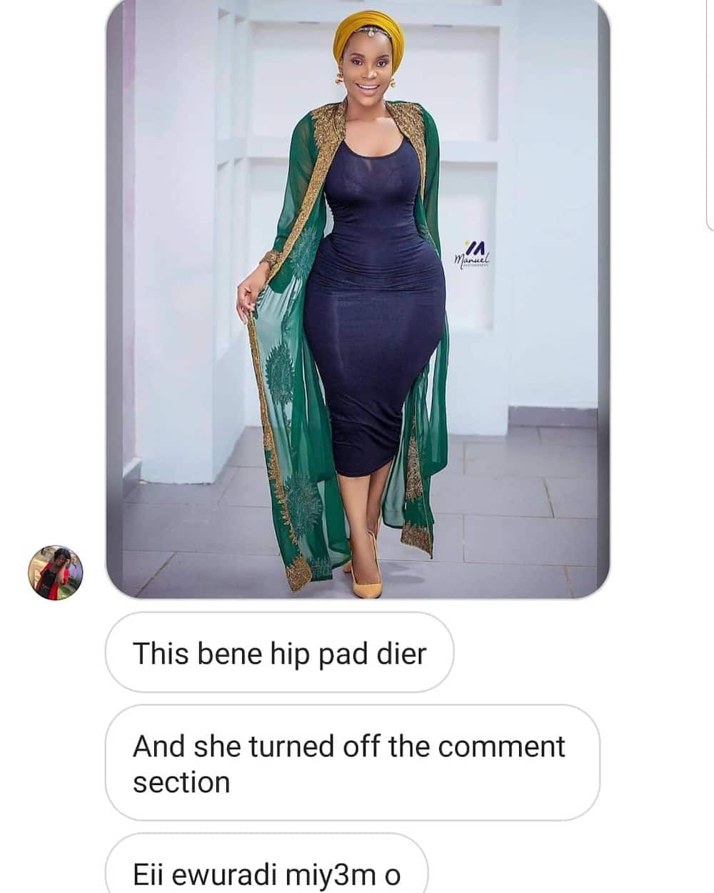 Benedicta Gafah shows her true body in latest photo and fans have praised her