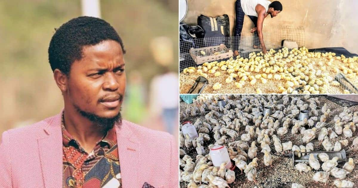 Determined young man uses GHC167 to start successful poultry farm; now makes millions
