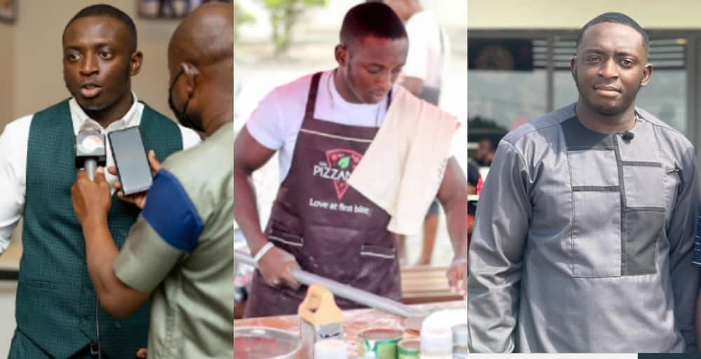 Nana Boakye: 24-years-old CEO of Pizzaman in Kumasi with 120 Employees gets many Talking about his success