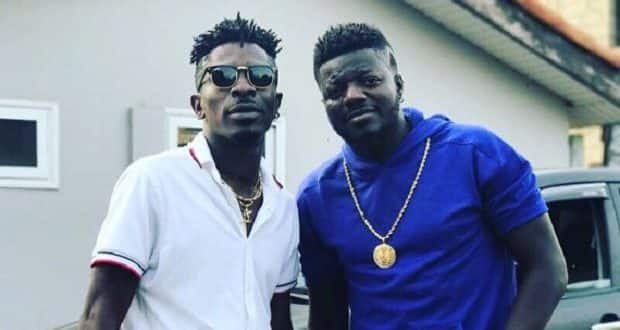 Pope Skinny teases Shatta Wale; flaunts new expensive car in latest video
