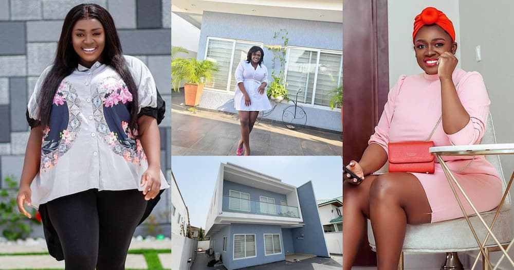 Tracey Boakye: Kumawood Actress Moves Out Of East Legon House; Puts It Up For Rent