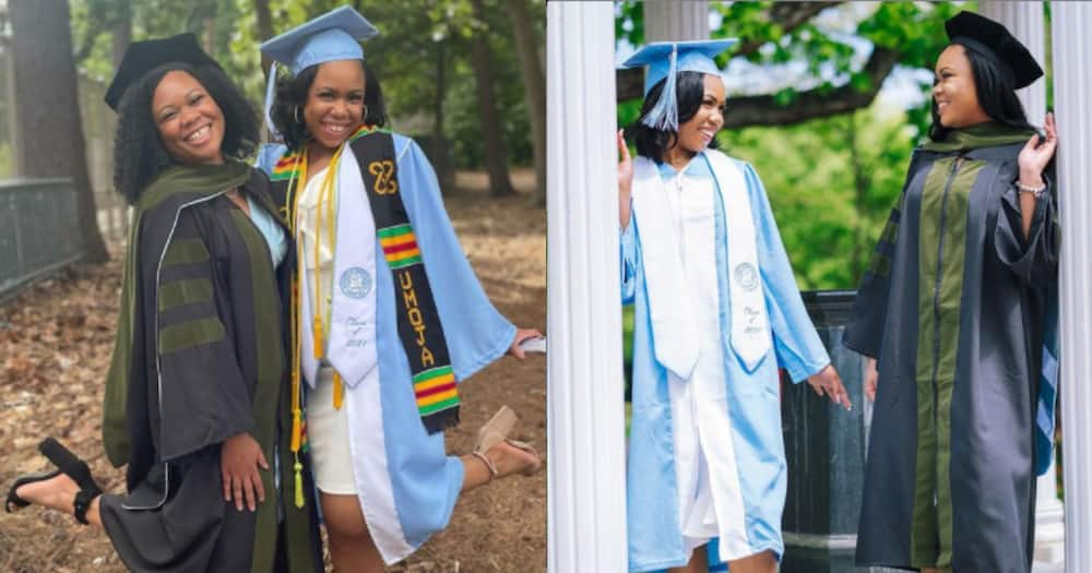 Joy as sisters earn degrees from same university, drop amazing photos to celebrate achievement
