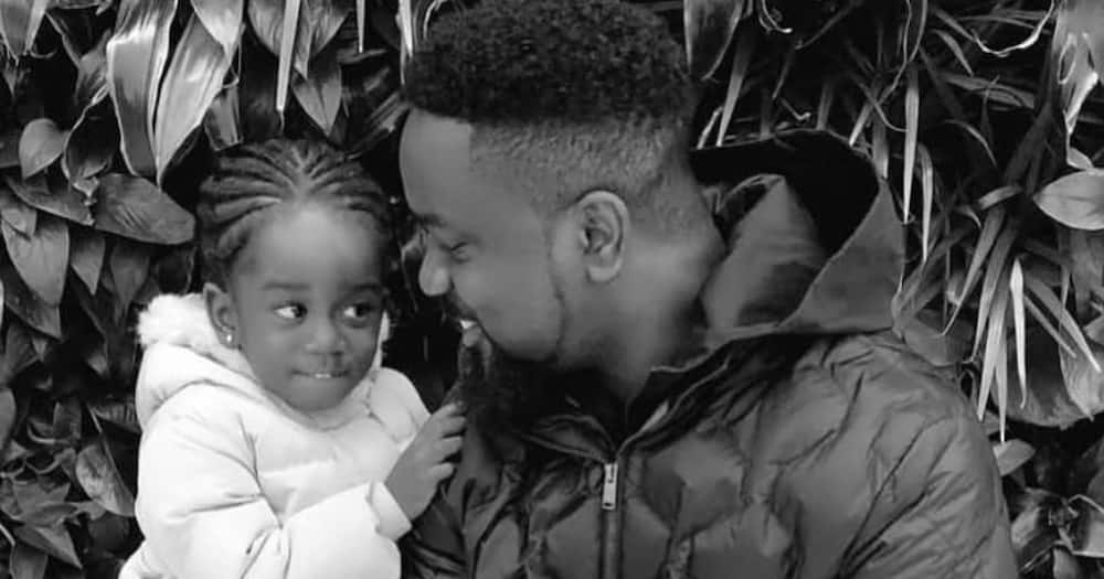 Titi Sarkcess: Sarkodie's Daughter goes Swimming in new Video
