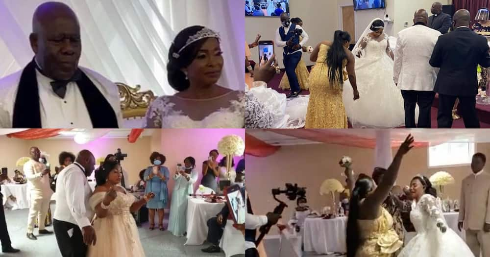 Kyeiwaa: More videos and photos from Kumawood actress' white wedding in America