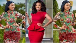 Serwaa Amihere's first name mentioned for the first time; fans laugh as they say it's 'olden name'