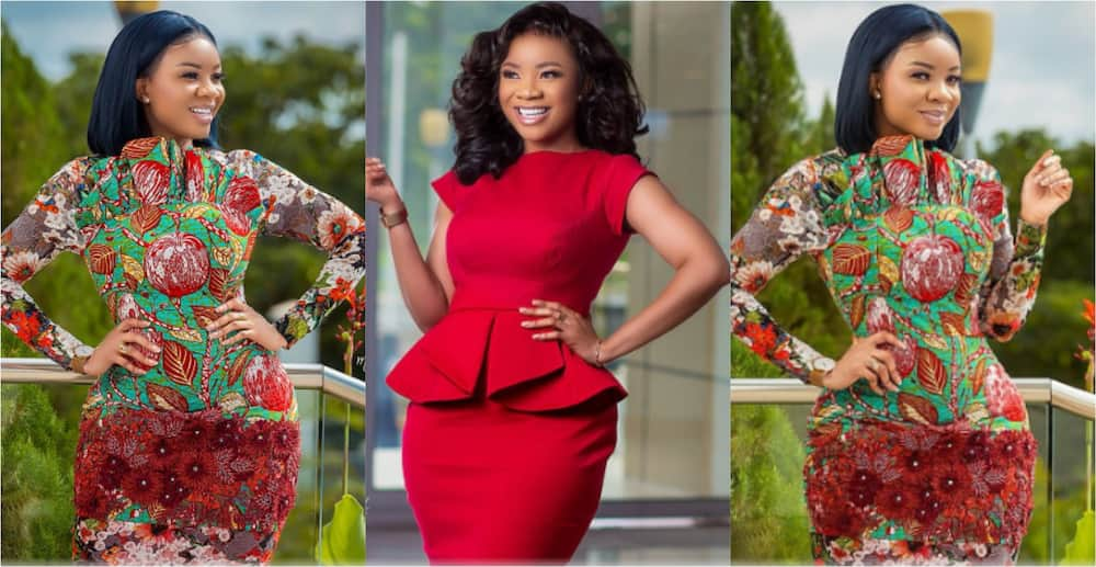 Serwaa Amihere flaunts fines legs and curves in recent photos; fresh guys react