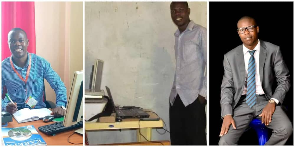 Nigerians react as man becomes his own boss years after his girlfriend left him due to his joblessness