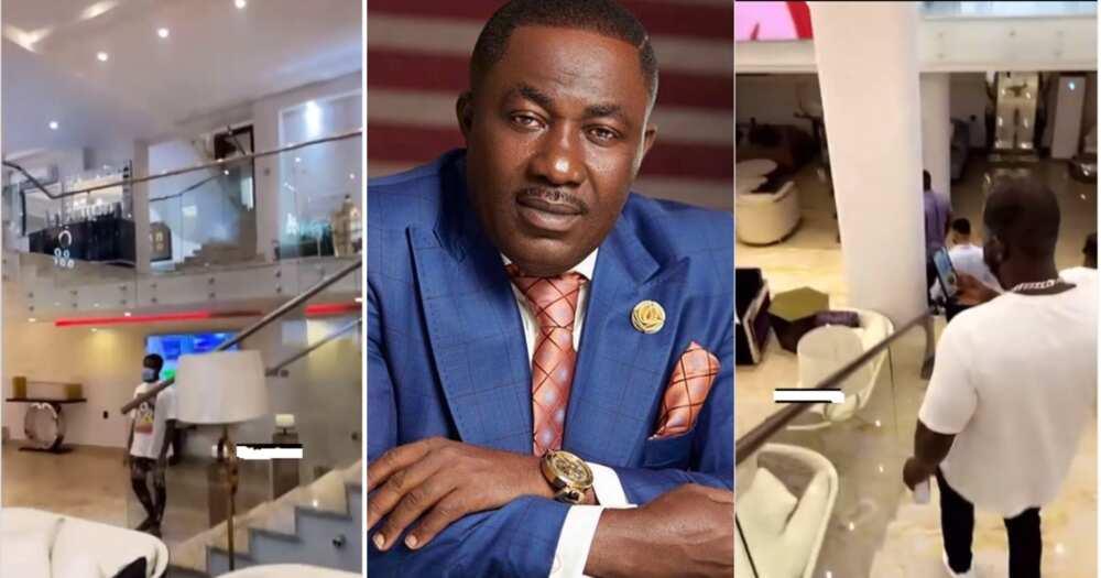 Despite's Mansion: Video of Osei Kwame's Mansion Interior Amazes Ghanaians