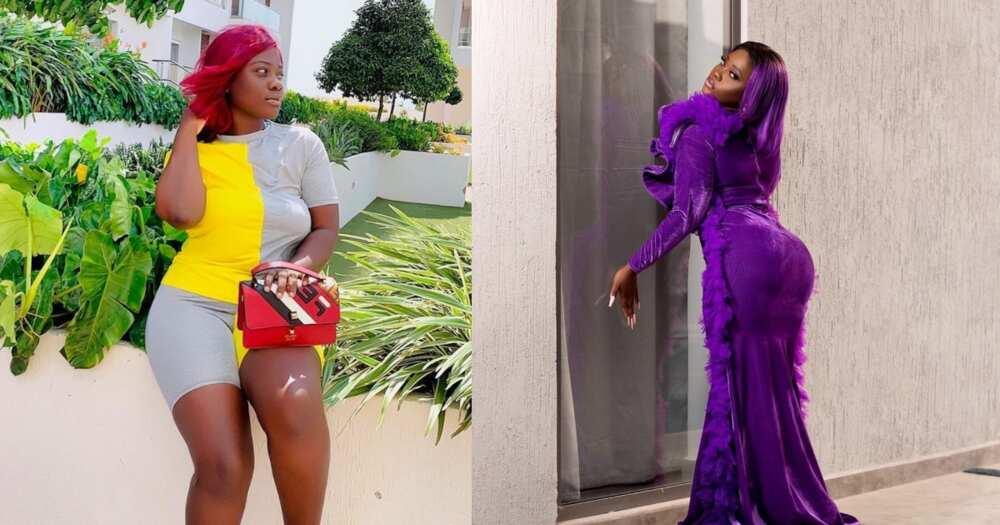 Damaris Blaq: Young Ghanaian actress celebrates birthday with 9 stunning photos