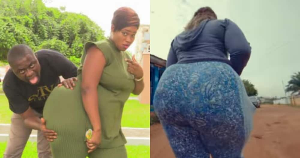 A prophet gave me GHC10k after seeing my extra-large backside - Lady reveals