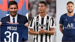 Ronaldo drops behind Messi, Neymar 2 other stars as highest paid footballers.