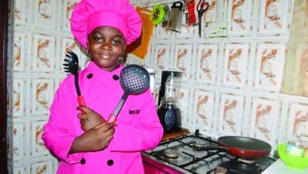 10-year-old chef reveals desire to cook for Tiwa Savage and an African president (Video)