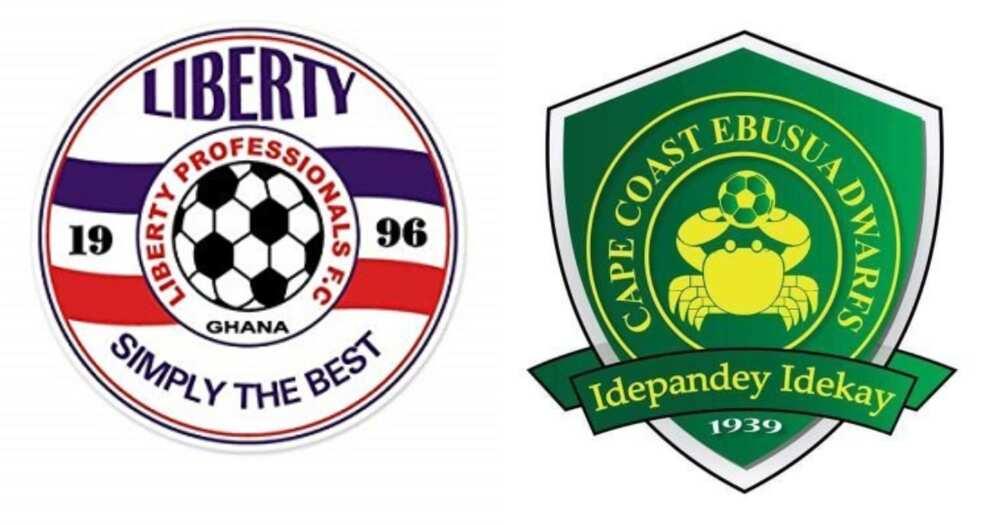 Liberty Professionals and Ebusua Dwarfs on Ghana Premier League final day