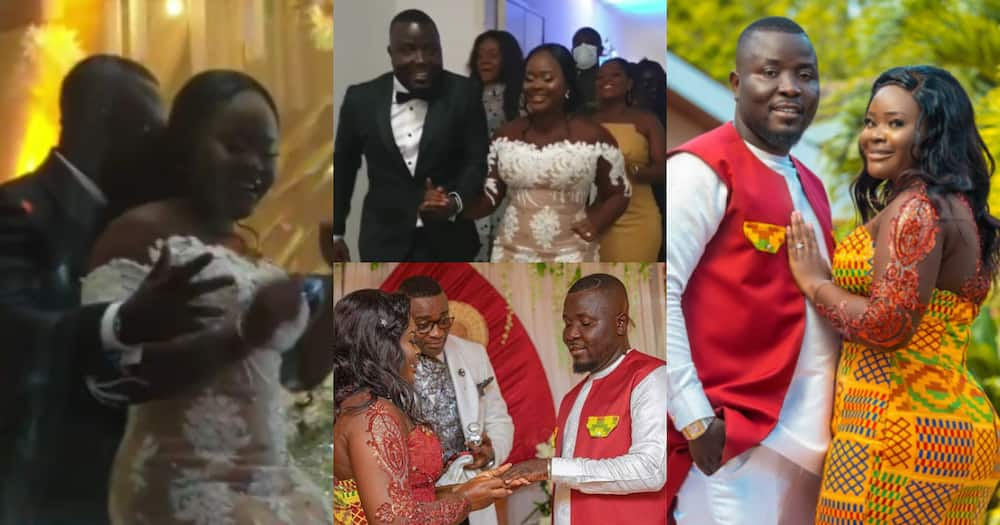Dr Pounds: First videos from Hitz FM presenter's wedding reception in Cape Coast drop