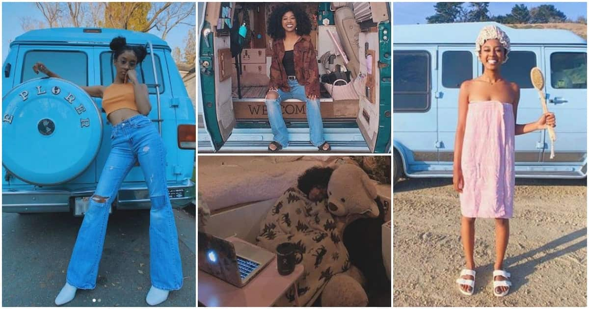 Meet Jennelle Eliana, 19-year-old girl who lives in a van
