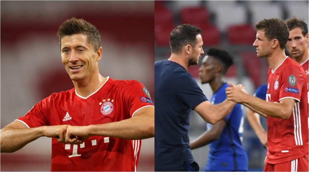 Bayern Munich vs Chelsea: Lewandowski scores brace in 4-1 win over Blues