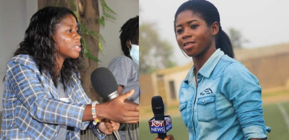 Susan Owusu-Ansah: 23-year-old Journalist talks about challenges females face in the sports space in Ghana.