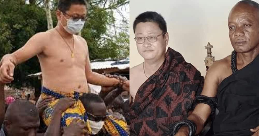 Chinese national made chief in Ghana rejects title over massive criticisms
