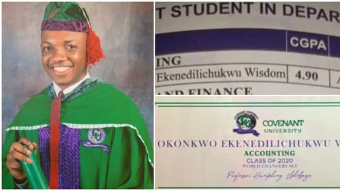Young man emerges Best Graduating Accounting Student, graduates with GPA of 4.90