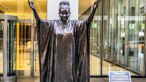 Renowned African scholar and 9 others have statues erected in their honour in NY; photos drop