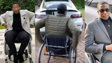 Disabled man laments as church refuses him entry claiming it is holy grounds