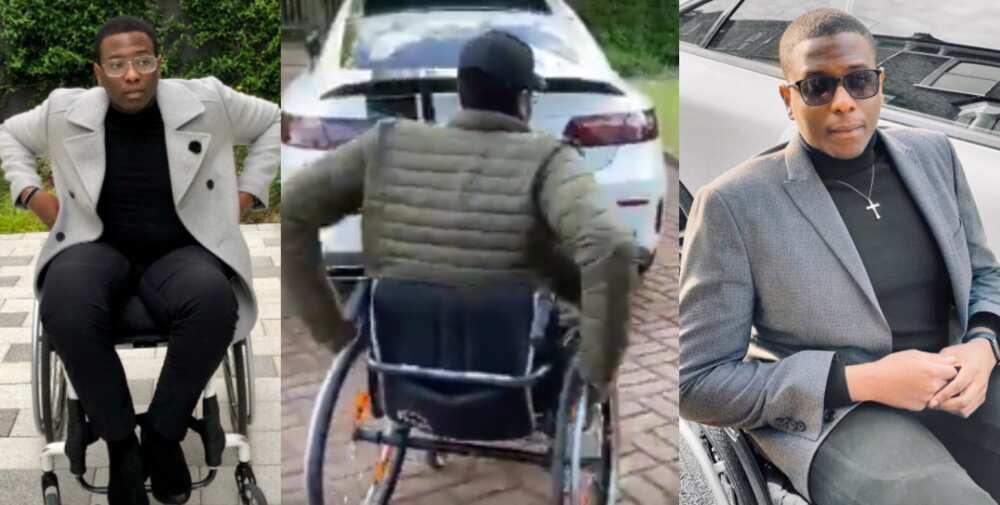 Debola Daniel: Disabled man Laments as Church Refuses him Entry with his Wheelchair