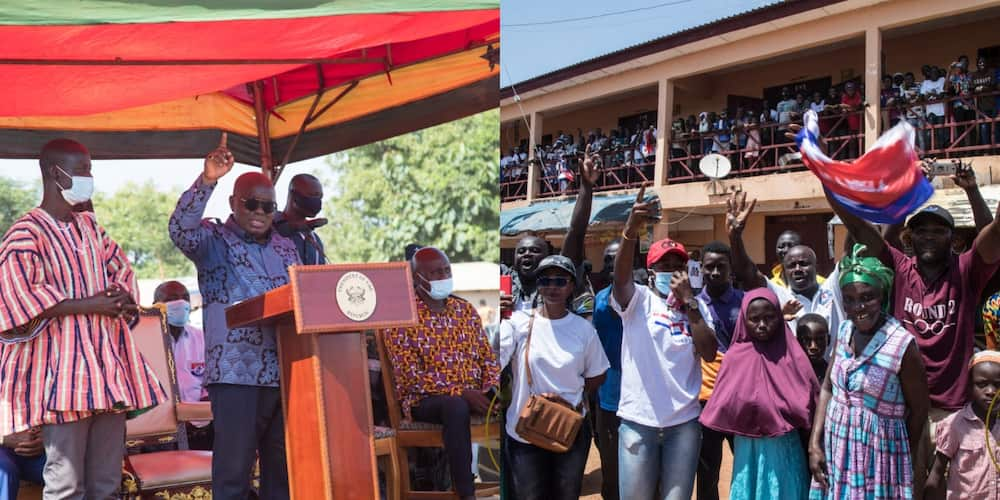 9 things done by Akufo-Addo during his tour of the Volta and Oti Regions