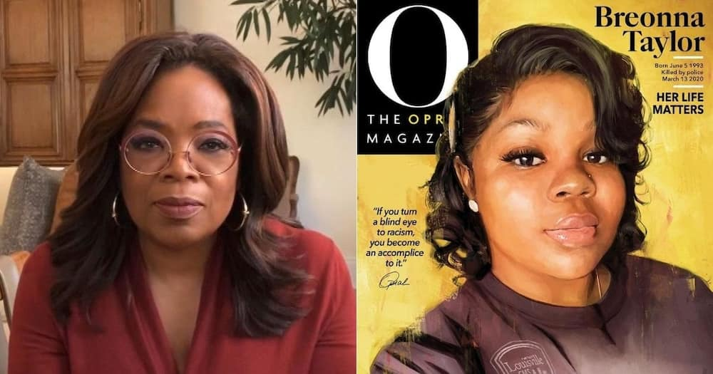 Breonna Taylor Graces Oprah Magazine Cover Alone, 1st Time in History