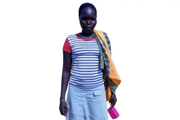 Celestine Cheredio was married off at age of 10. Photo: Daily Monitor
