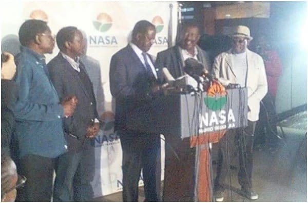 The 2017 general elections was a complete sham and I can prove it – Opposition leader Raila Odinga