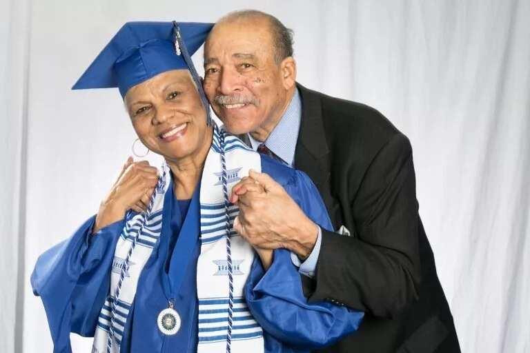Darlene and her husband of 54 years, John Mullins. Photo: Tennessee State University