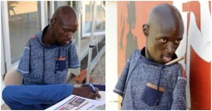 I don't have hands, but my brain is not disabled - Man without arms inspires many with his determination (photos)