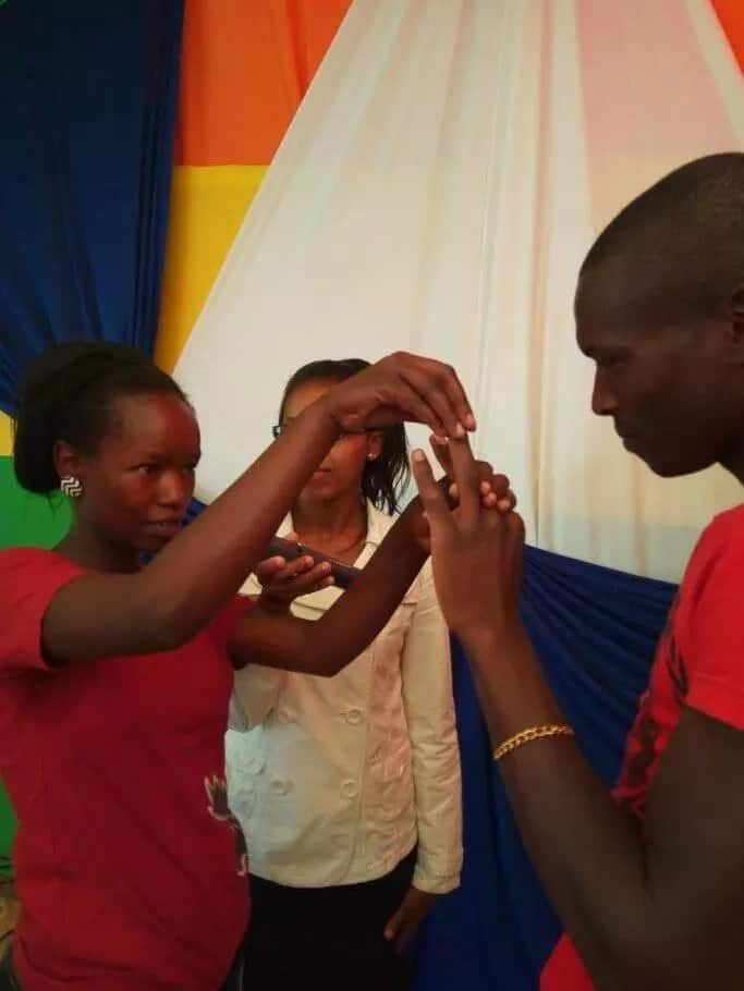 The simplest wedding ever in Kenya (photos)