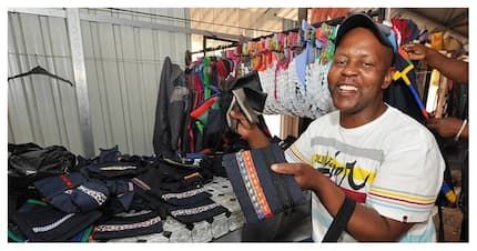 Unemployment turned into opportunity: 42-year-old man uses his talent of sewing to start a bag-making business (photo)