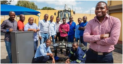 Meet proud South African man who develops system that produces electricity from road traffic