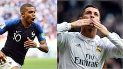 Journey to stardom! Heartening photos of young Mbappe idolising Ronaldo shows nothing is impossible