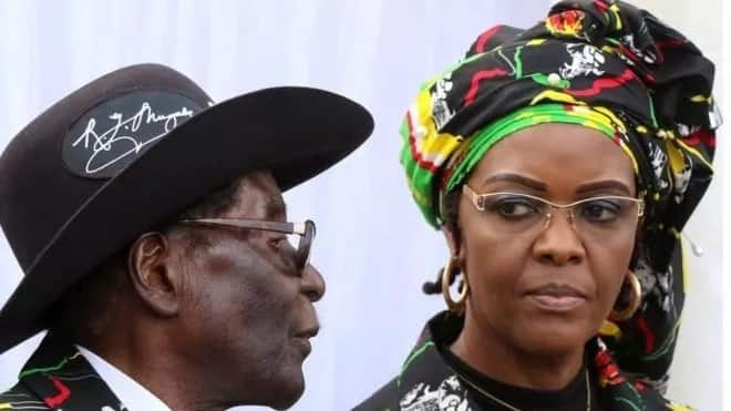 Grace Mugabe allegedly assaulted Engels. Photo: Reuters