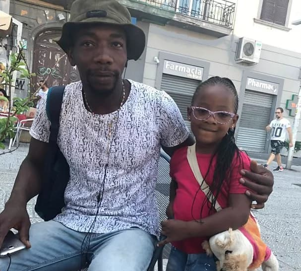 Refugee says child traffickers wanted to buy his daughter for Ghc156k