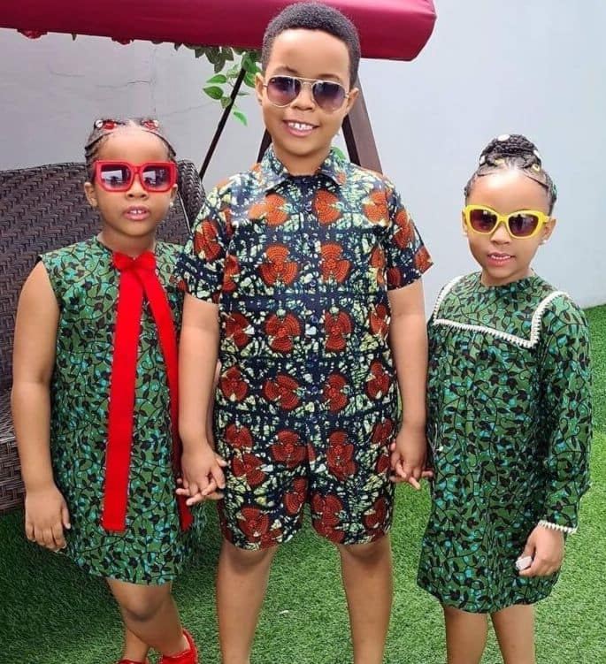 Ankara styles for children