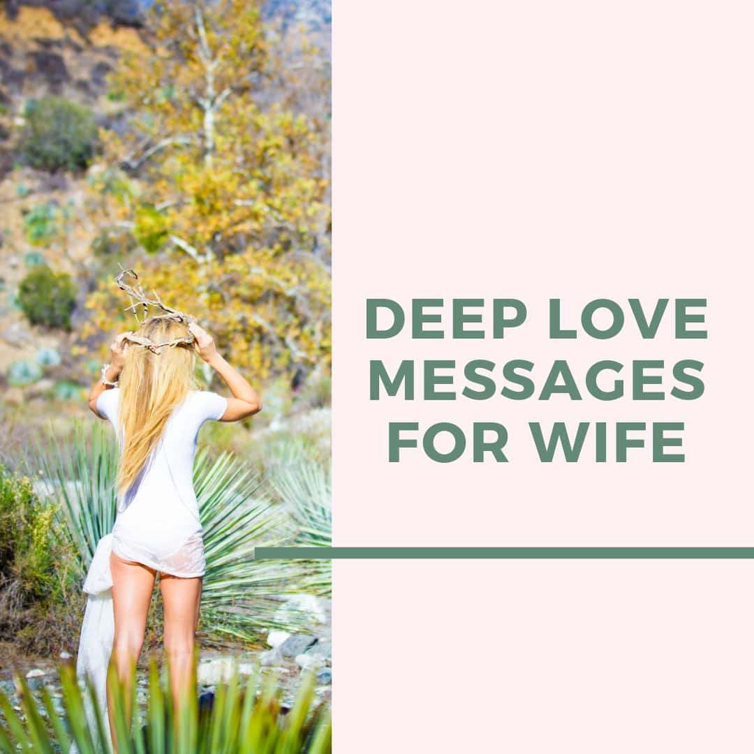 35 deep love messages for wife 2019