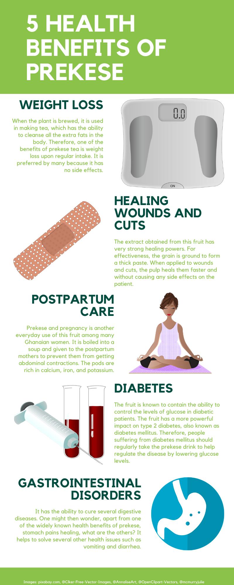 Prekese health benefits