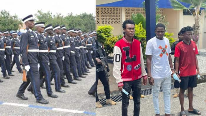 3 persons arrested for police recruitment scam in Volta Region