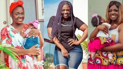 Tracey Boakye disgraces her sugar daddy's other sidechick; calls her 'abrewa' in live video