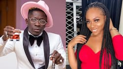 Can't believe it - Shatta Wale's fans cry as Shatta Michy gets a new bae and show him off in photo