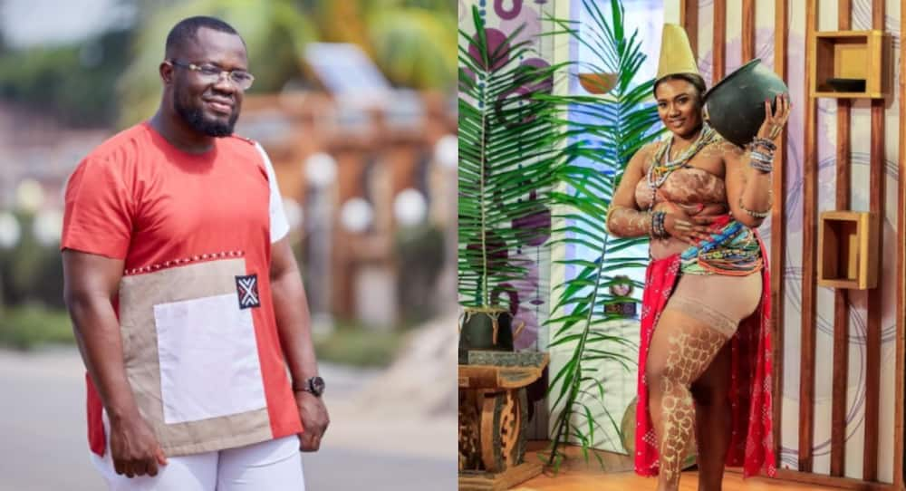 Abena Korkor throws shade after disgracing Giovanni Caleb after sleeping with her