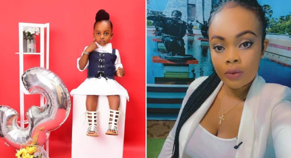 Asare Bernice flaunts her all-grown on her 3rd birthday; drops beautiful photos