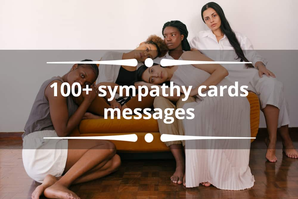 100+ sympathy cards messages