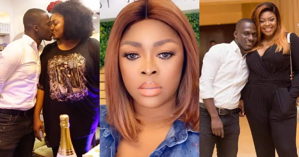 Minalyn reacts to Zionfelix's birthday wish to her; fans left confused by her reply